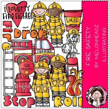 Melonheadz: Fire Safety clip art - COMBO PACK