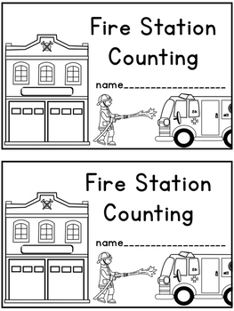 Fire Station Counting Book