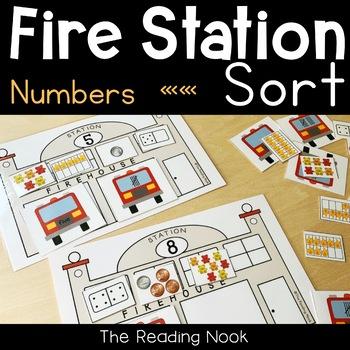 Fire Station Number Sense 1-10