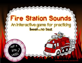 Fire Station Sounds - An interactive game for recognizing