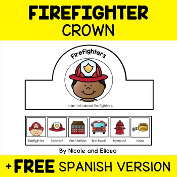 Firefighter Crown Craft