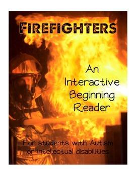 Firefighter Fire Safety Interactive Beginning Reader Book