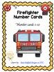 Firefighter Number Cards 1-10