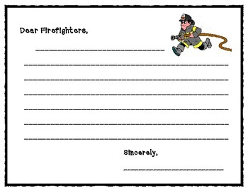 Firefighter & Police Officer Thank You Letters
