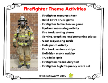 Firefighter Theme Resources