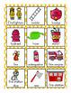 Firefighter Vocabulary Cards