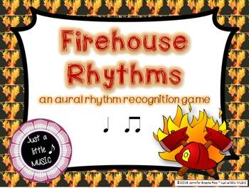 Firehouse Rhythms -- An Aural Rhythm Recognition Game {ta titi}