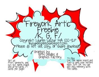 Firework Artic FREEBIE! /K, G, F/