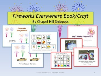 Fireworks Everywhere Interactive Book/Craftivity--Special