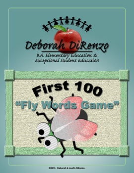 First 100 Fly Words (Fry Words)