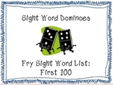 First 100 Fry Word-Dominoes