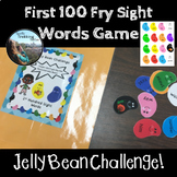 Fry Sight Words Game - 1st 100 - Jelly Bean Challenge