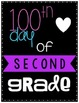 First, 100th and Last Day of School Posters