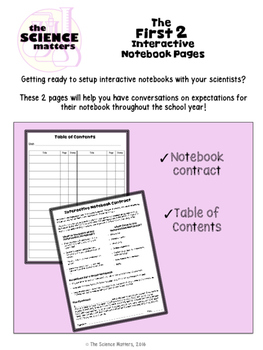 Interactive Notebook Starter Sample