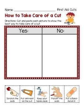 First Aid - Cuts