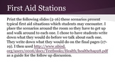 First Aid Situation Stations