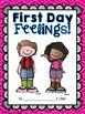 First Day Feelings Class Book {freebie!}