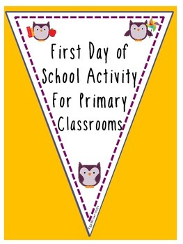 First Day Flags (Owls!)