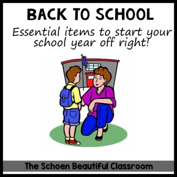 Back to School First Day Forms Parents' Checklist
