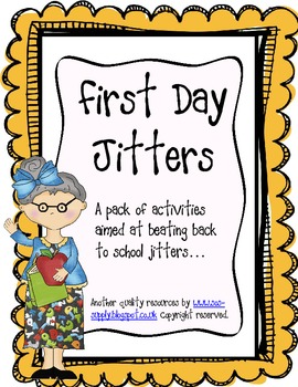https://www.teacherspayteachers.com/Product/First-Day-Jitters-Bumper-Back-to-School-Activity-Pack-303727