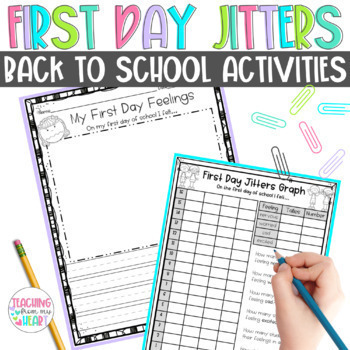 First Day Jitters Activities, Back to School Activities, F