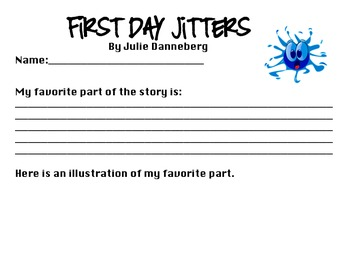 FREEBIE - First Day Jitters: Favorite Part of the Book