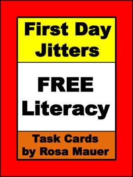 First Day Jitters Free Back to School