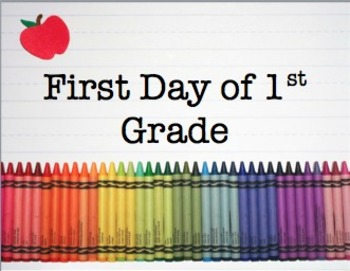 First Day Picture Signs
