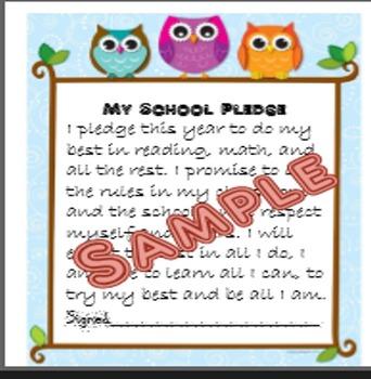 First Day Pledge