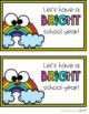First Day Treat Labels- Rainbow