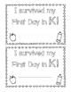 First Day of Kindergarten Keepsakes