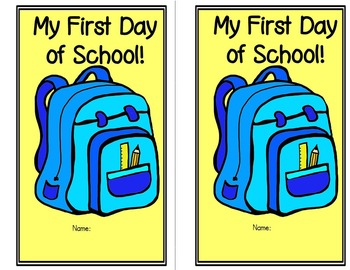 First Day of School {Color and Keep}