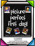 First Day of School Activities & Back to School Activities Bundle