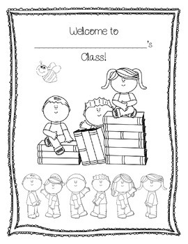 Back to School: First Day Packet