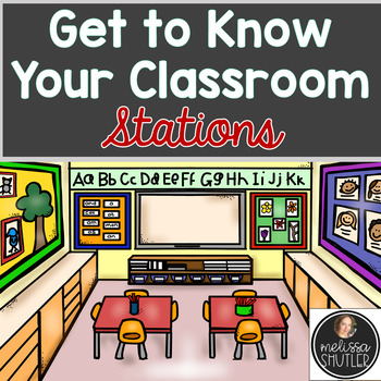 First Day of School Stations