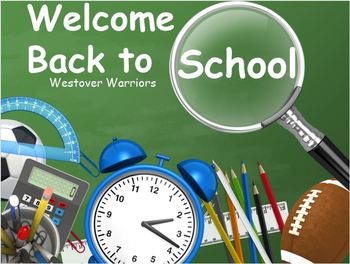 1 First Day of School-PowerPoint:Welcome Back-Rules and Ex