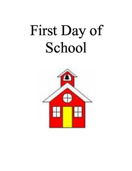 First Day of School rules book