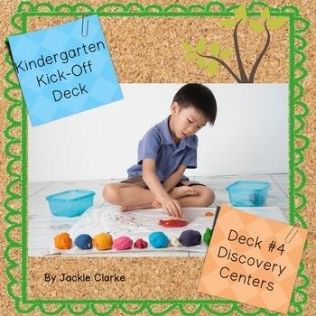 First Days in Kindergarten - Back to School Deck - Discove