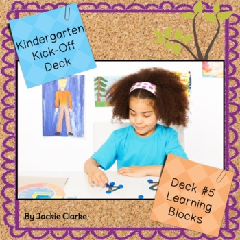 First Days in Kindergarten - Back to School Deck - Daily P