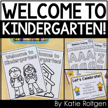 Back to School Activities for Kindergarten