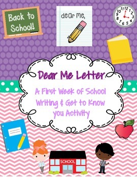 Back to School: Dear Me Letter