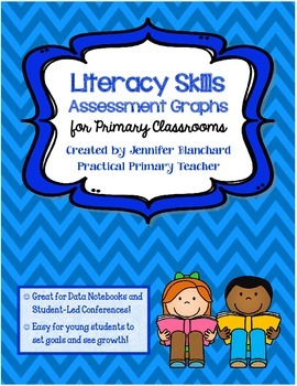 Primary Literacy Skills Assessment and Data Notebook Sheets