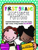 First Grade Assessment Portfolio