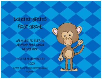 First Grade Bananagrams