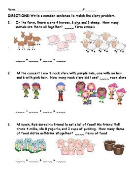 First Grade CCSS Everyday Math Unit 2 Practice - Three Addends