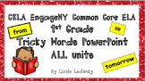 1st Grade CKLA Core Knowledge EngageNY Tricky Words PowerP