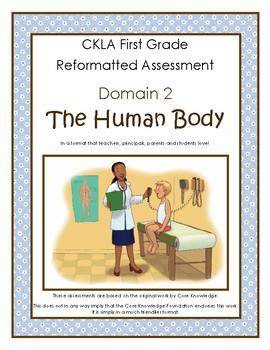First Grade CKLA Domain 2 The Human Body Alternative Assessment