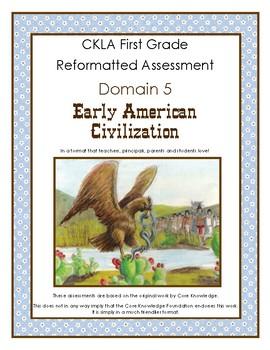 First Grade CKLA Domain 5 Early American Civilizations Alt