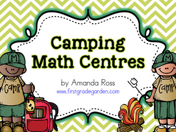 First Grade Camping Math Centres