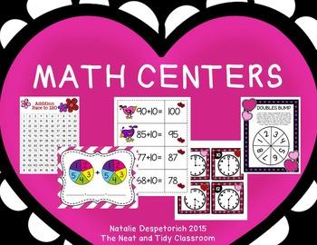 First Grade Centers {Valentine's Day}